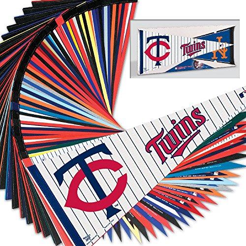 Major League Baseball Team Pennants - Set of 30 MLB Teams