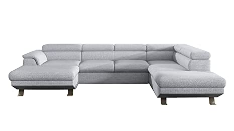 Amazon.com: Phoenix XL Sectional Sleeper Sofa, Right Corner ...