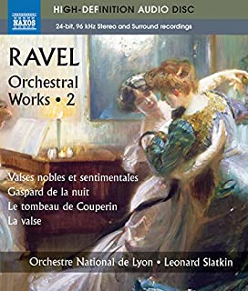 Ravel: Orchestral Works, Vol. 2 - Valses Nobles Et Sentimentales (Blu Ray Audio) by Orchestre National De Lyon (B00FLBA19S) | Amazon Products