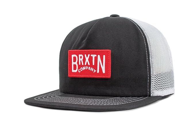a2163eceeab Amazon.com  Brixton Men s Langley Medium Profile Adjustable Mesh Cap ...