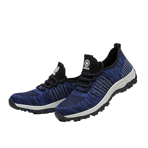 Zapatos de Seguridad para Hombres Zapatos de Acero con Punta ...