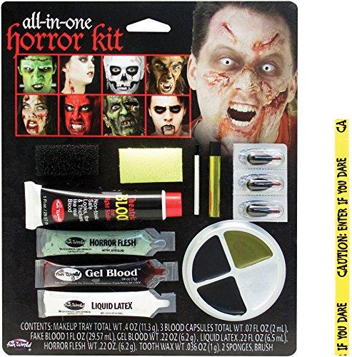 with Halloween Makeup design