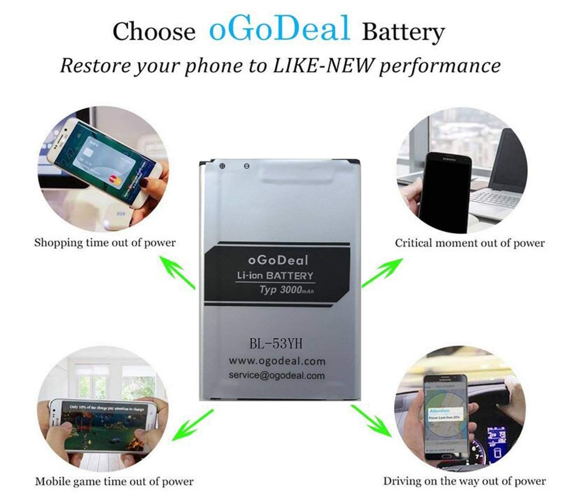 Replacement Parts Electronics oGoDeal Battery Replacement ...