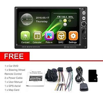 SWM-8013G 7 Pulgadas de Pantalla Grande Navegación GPS Coche DVD Vehículo Reproductor de Video