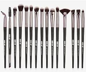 15Pcs Black/Gold Professional Makeup Brushes Set Make up Brush Tools kit Eye Liner Eyeshadow Eye Brushes Make-up