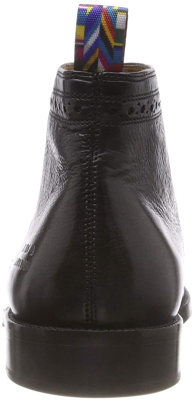MELVIN & HAMILTON MH HAND MADE SHOES OF CLASS Herren Schwarz Jeff 7 Chelsea Boots Schwarz Herren (Milano/ Black/ Loop Persus/ Hrs Burgundy Milano/ Black/ Loop Persus/ Hrs Burgundy) 47b9f6