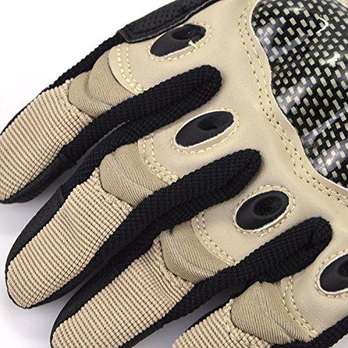 (フリーホック)Freehawk 防寒グローブ 革 防寒 防風 自転車 バイク プロテクター スキー スノボ 登山 ハイキング サイクリング ドライブ用手袋 カーキー(カーキー,M(20-22cm))