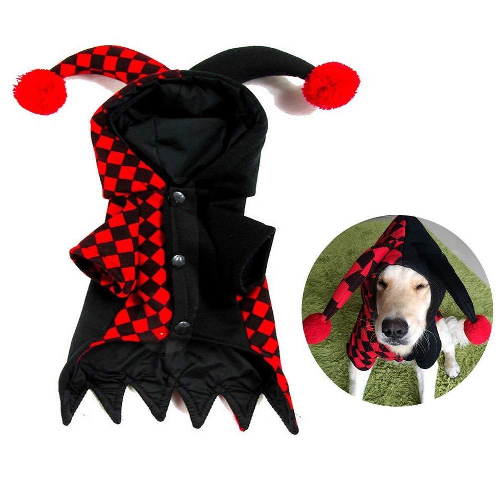 CDSFC Disfraz De Mascota, Disfraz De Bufón De Halloween De ...
