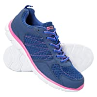 Mountain Warehouse Cruise Womens Running Shoes - Durable Summer Shoes, Breathable Ladies Shoes, Mesh, Rubber Outsole Hiking Shoes, Mesh Lining - for Walking & Travelling
