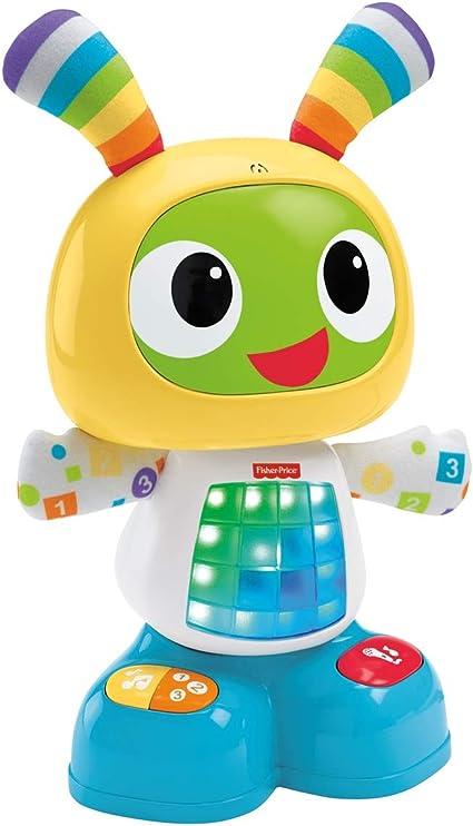 en ligne à la vente achat authentique acheter populaire Fisher-Price Bebo le Robot Interactif Jouet d'Éveil avec 3 Modes de Jeu,  Musique et Danse, Apprentissage, Enregistrement, pour Bébé de 9 Mois et  Plus, ...