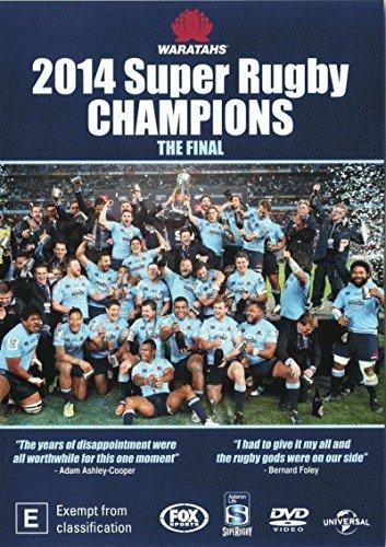 Waratahs 2014 Super Rugby Champions The Final DVD [Waratahs vs Crusaders]