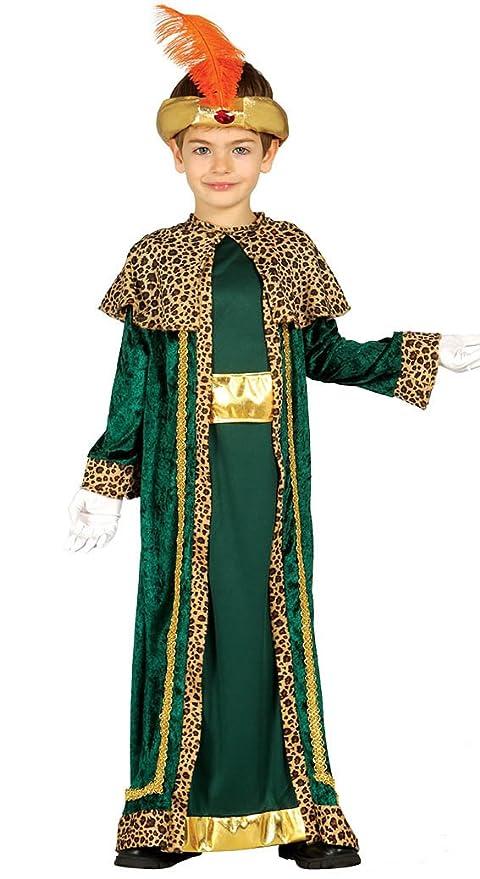 Disfraz de Rey Baltasar infantil 3-4 años
