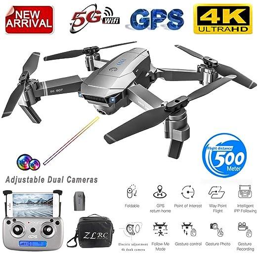 Meiyiu SG907 Drone GPS con cámara 4K 5G WiFi RC Quadcopter Flujo ...