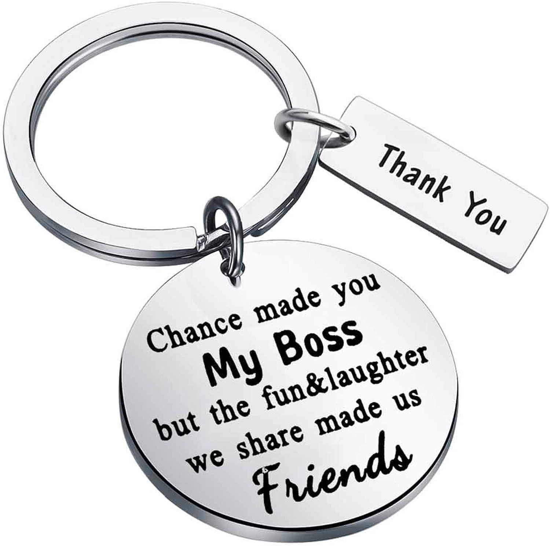 Boss Gift Boss - Llavero con texto en inglés