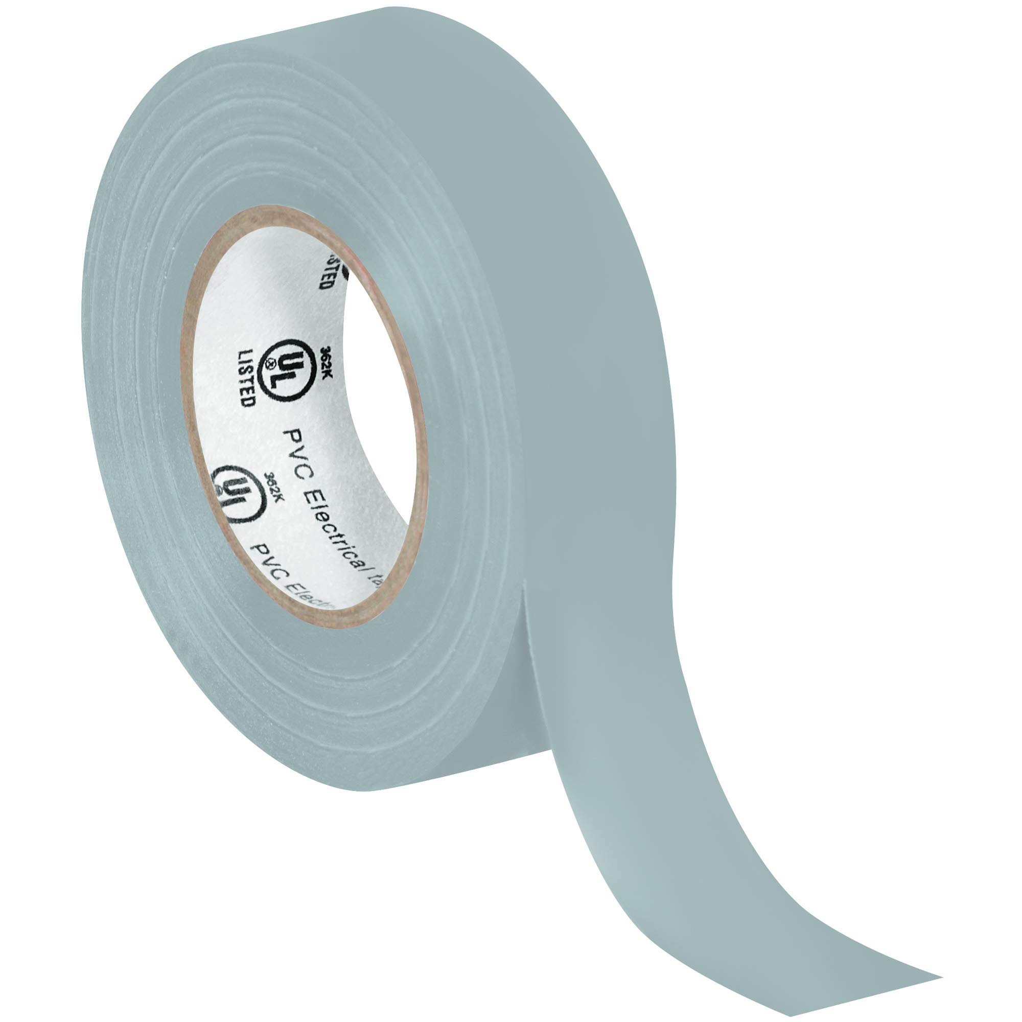 Electrical Tape, 7.0 Mil, 3/4''x 20 yds, Gray, 200/Case