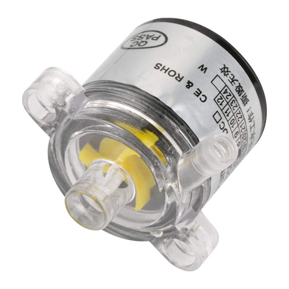 Akozon Mini Water Pump, Low Noise Environmental Plastic Electric Brushless Water Pump 12V 7W by Akozon (Image #6)