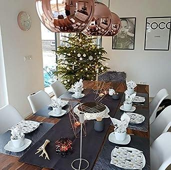 Ester Kupfer Wohnzimmer Deckenleuchte Modern Kupfer