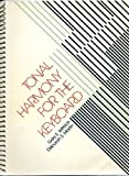 Tonal Harmony at the Keyboard, Gary E. Wittlich and Deborah S. Martin, 0028701305