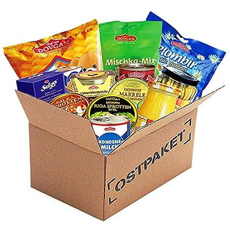 Ostpaket Ostprodukte russische Spezialitäten: Amazon.de ...
