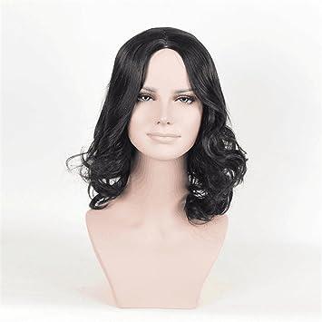Echthaar Haarverlängerungen Locken Asymmetrischer
