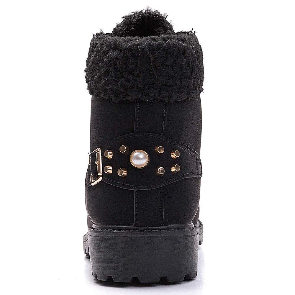Amazon.com: Susanny Botas de nieve cálidas para mujer ...