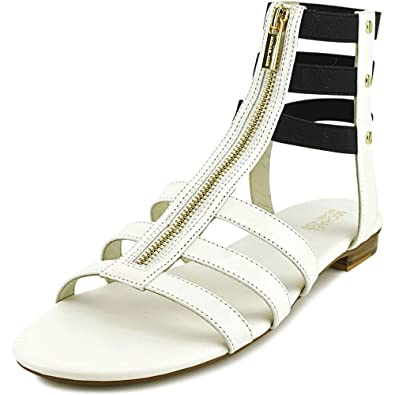 5096c09ed0 Michael Kors Codie Women's Strappy Gladiator Sandals (6) Optical White