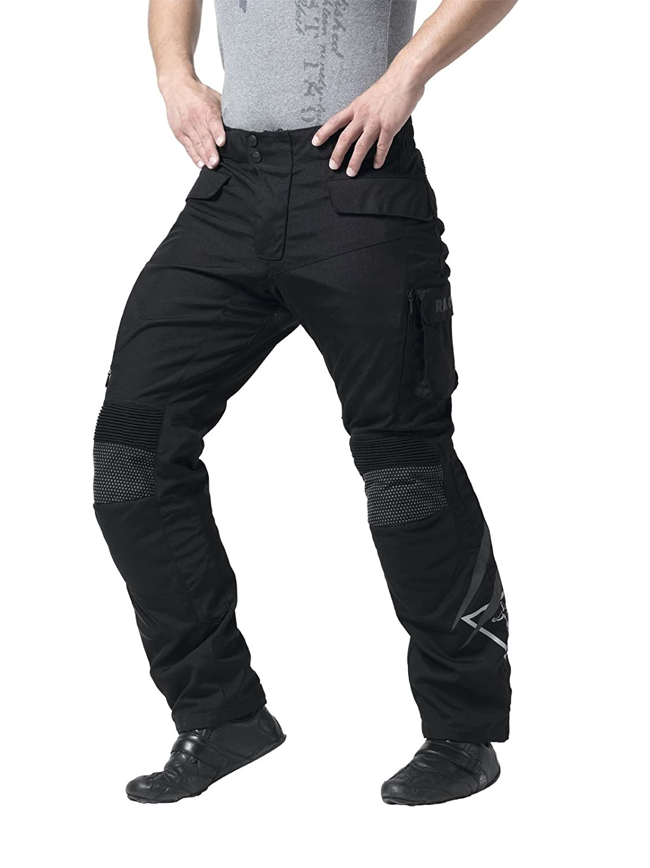 Schwarz Racer Vero Textilhose Gr/ö/ße 4XL