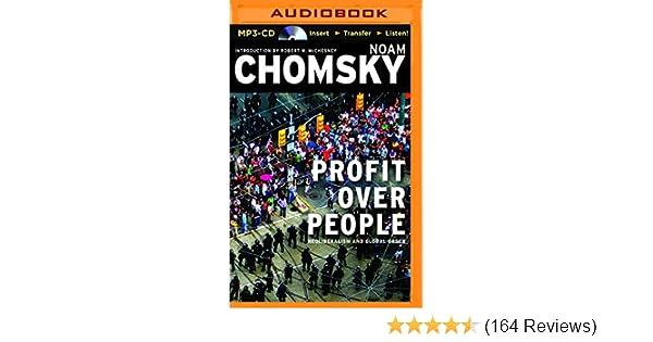 Profit Over People: Noam Chomsky, Brian Jones: 9781511308564