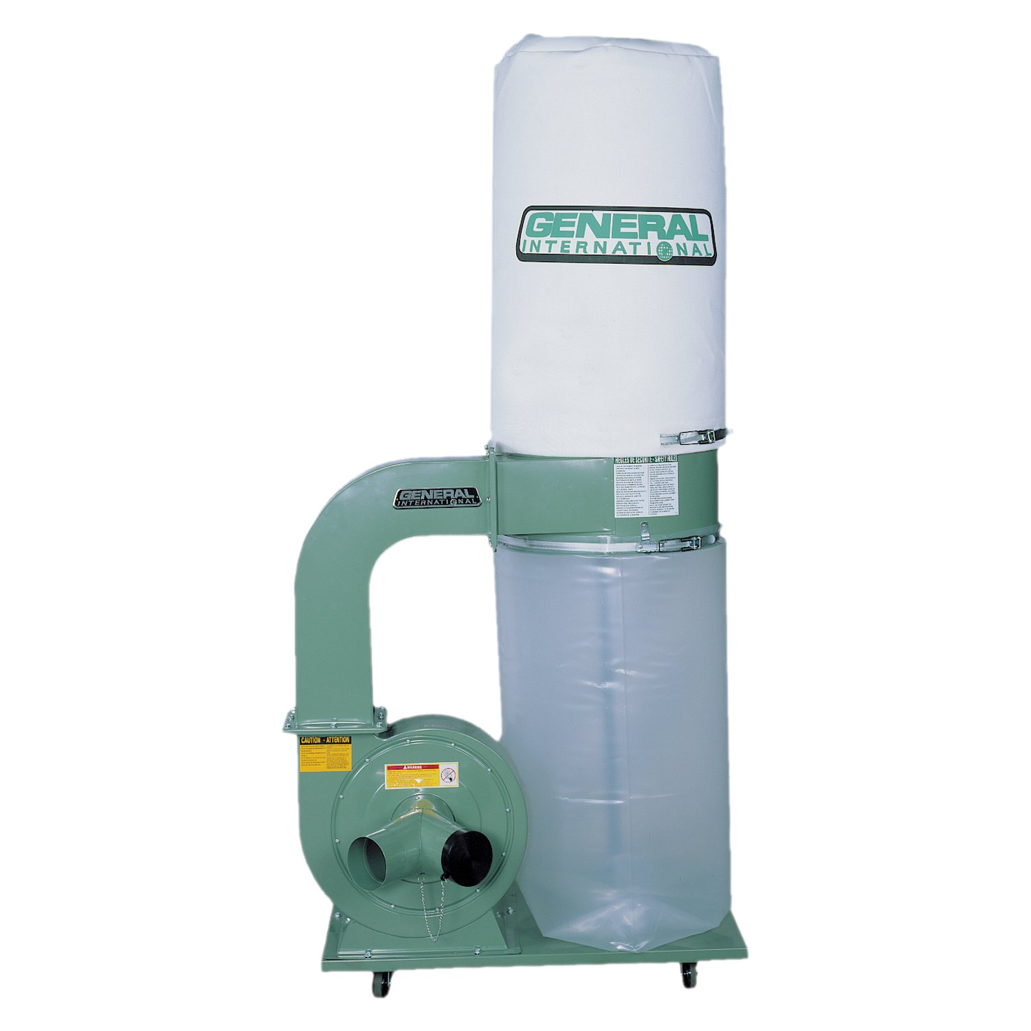 General International 10-110 M1 2 HP Dust Collector