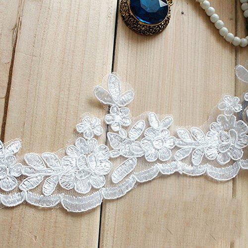 Alencon Lace Gown - 3