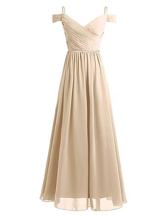 Bekleidung 36 46 Damen Iefiel Elegant Damen Kleider Sommer Chiffon Kleid Lang Cocktailkleid Abendkleider Hochzeit Party Kleider Gr Abendkleider Damen