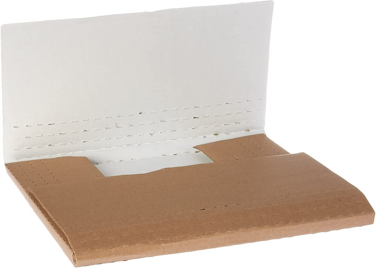 50-Count The Packaging Wholesalers 8 x 18 x 4-1//2 Inches Open Top Bin Box BSBINBWZ818