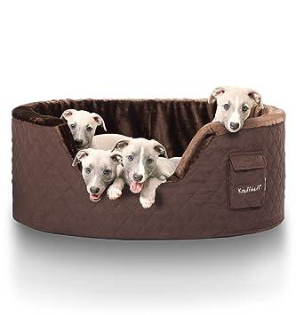 Knuffelwuff panier chien, lit pour chien, coussin, corbeille pour chien  Henry, fond 5bcd36bfcc3