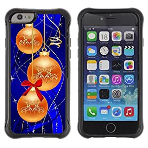 iArmor Hybrid Anti-Shock Defend Case / Christmas Decorations / Apple iPhone 6