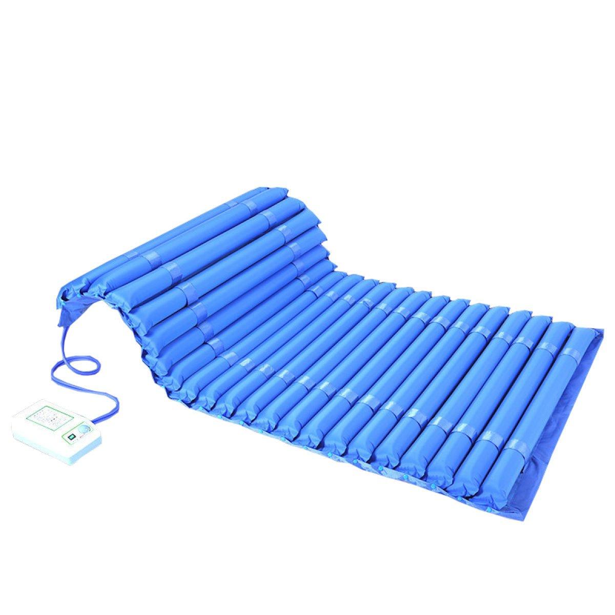 DFB Verbreiterung Erhöhte Anti-Bett-Aufblasbare Matratze Einzel-Älteres Spülbett Betrunkene Patienten Medizinisches Haus,Blau-2m1.2m