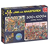 Jumbo Jan Van Haasteren the Reception & German Beer Party Jigsaw Puzzle (500 1000) (1500 Piece)
