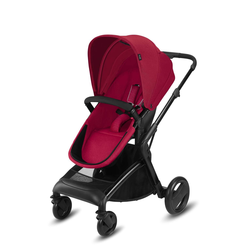 Ab Geburt bis 15 kg Smoky Anthracite cbx Kombikinderwagen Kody Pure mit wendbarem Sportsitz und Babywanne Regenverdeck Inkl