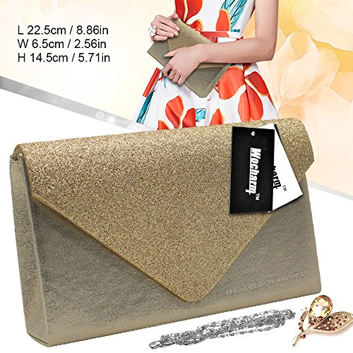 Bag Clutch Women Bag Wocharm Wedding Stylish Sparkle Party apricot Hand Glitter Handbags Evening Girly t88pqwAS