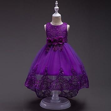 Princesa Tutu falda de lentejuelas de encaje de flores Vestido de ...