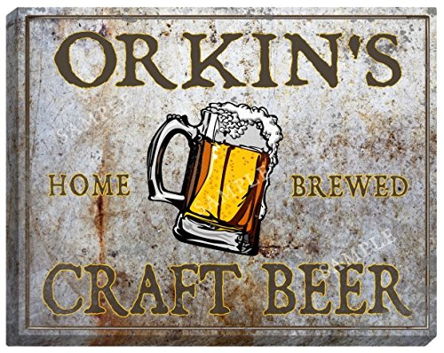 orkins-craft-beer-stretched-canvas-sign-16-x-20