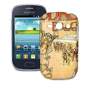 Phone Case For Samsung Galaxy Fame S6810 - Hippodrome French Art Deco Designer Wrap-Around