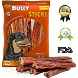 Beloved pets Bully Sticks 6-inch & 12 inch Odor-Free Made of All Natural Dog Treats (6 inch (25 Pack))