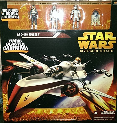 (Star Wars EP III RotS Revenge of The Sith ARC 170 Fighter)