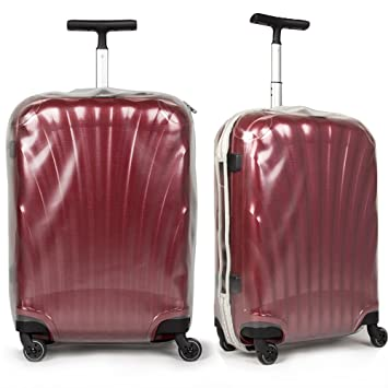 Travel Luggage Cover Protective Transparent Pvc Suitcase Clear Xqwzf0Hq