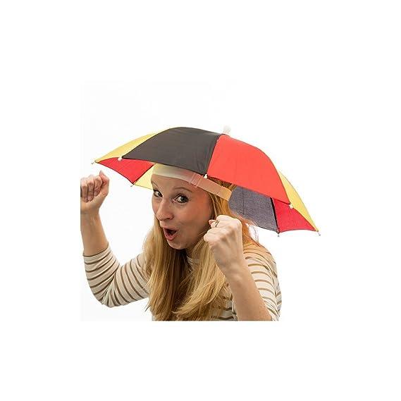 Paraguas-Sombrero Bandera de Alemania