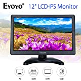 Best Monitor For DVDs - Eyoyo 12 inch HD 1920x1080 IPS LCD HDMI Review