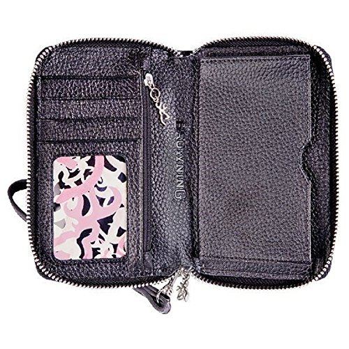 Browning Women's Wristlet Wallet Black Leather #BGT1186 (Billfold Leather Signature)