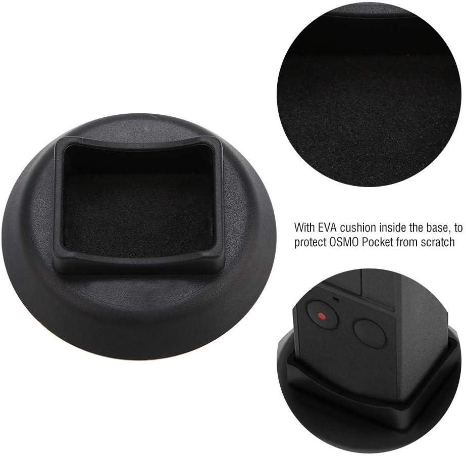 Oumij Camera Stabilizer Base Extension Holder Stand Bracket for DJI OSMO Pocket Support Base Gimbal Camera Selfie Holder Bracket Accessory