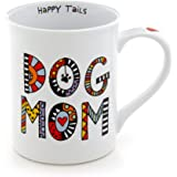 Our Name Is Mud 16-Ounce 'Cuppa Doodles Dog Mom' Mug by Lorrie Veasey, 4.5-Inch