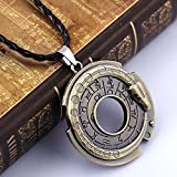Jaywine2 Unisex Metal Jewelry Amulet Pendant Necklace Lucky Protective Talisman